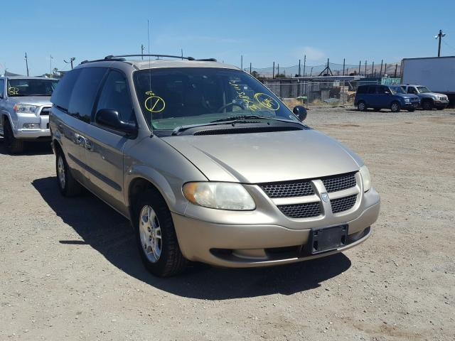 Dodge Grand Caravan salvage cars for sale: 2003 Dodge Grand Caravan