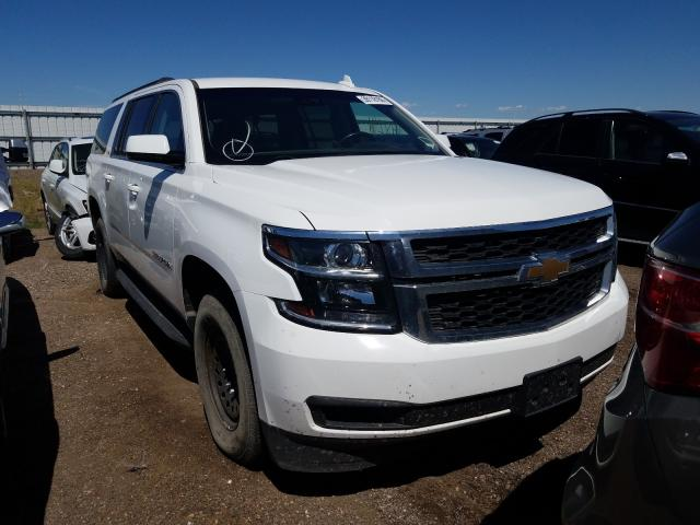 Chevrolet Suburban salvage cars for sale: 2018 Chevrolet Suburban