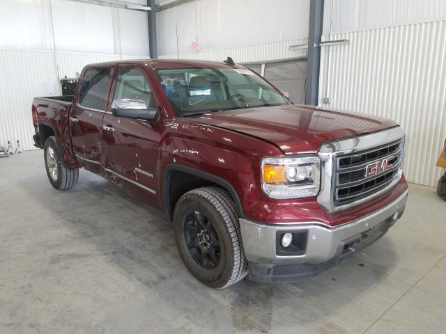 Salvage cars for sale from Copart Greenwood, NE: 2015 GMC Sierra K15