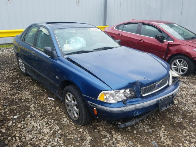 Volvo salvage cars for sale: 2000 Volvo S40