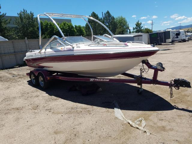 Salvage cars for sale from Copart Littleton, CO: 1996 Glastron Boat With Trailer