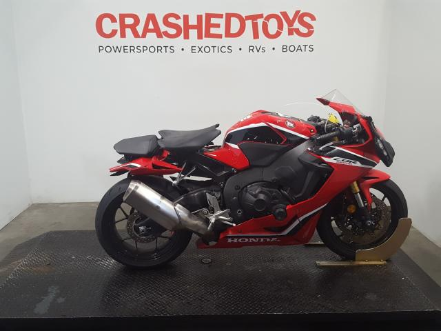 Honda CBR1000 RR salvage cars for sale: 2018 Honda CBR1000 RR