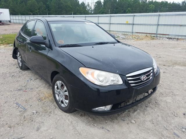 Salvage cars for sale from Copart Charles City, VA: 2010 Hyundai Elantra BL