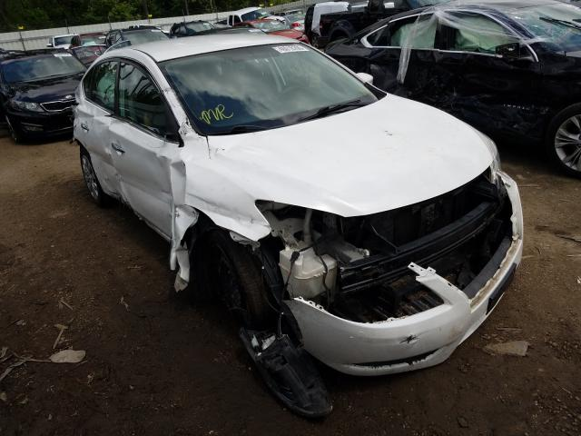 Salvage cars for sale at Harleyville, SC auction: 2014 Nissan Sentra S