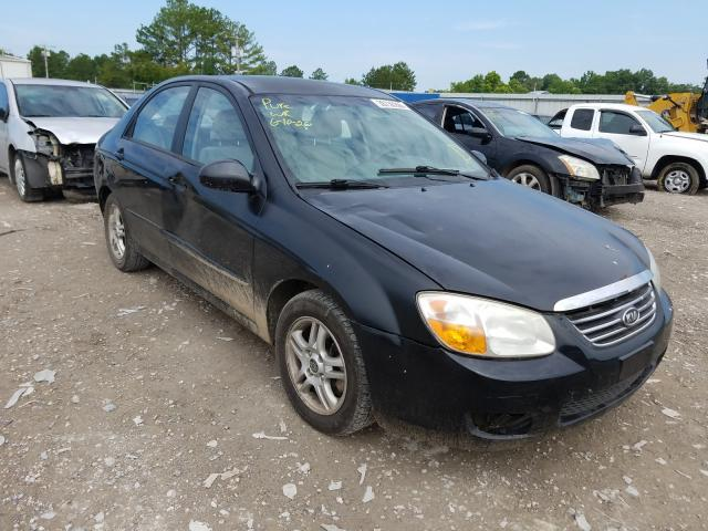 KIA salvage cars for sale: 2008 KIA Spectra EX