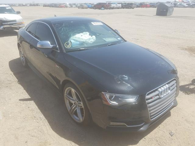 Salvage cars for sale from Copart Amarillo, TX: 2013 Audi S5 Quattro