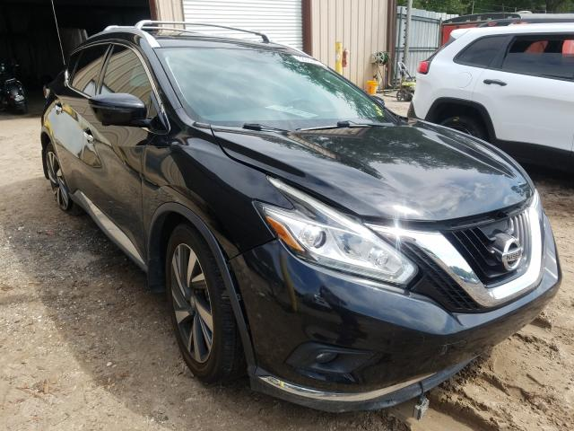 Nissan Murano S salvage cars for sale: 2016 Nissan Murano S