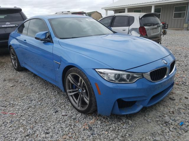Salvage cars for sale from Copart Prairie Grove, AR: 2015 BMW M4