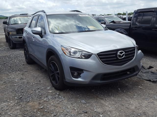 Salvage cars for sale from Copart Madisonville, TN: 2016 Mazda CX-5 Touring
