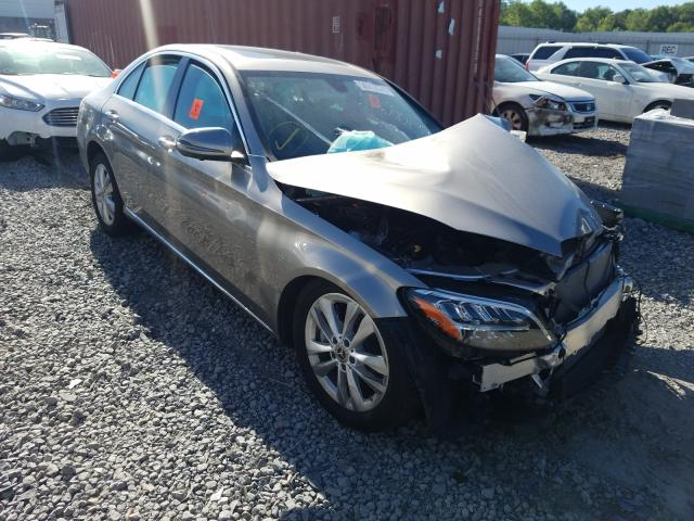 Mercedes-Benz salvage cars for sale: 2019 Mercedes-Benz C 300 4matic