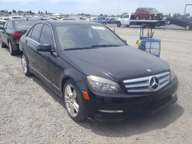 Mercedes-Benz C300 salvage cars for sale: 2011 Mercedes-Benz C300