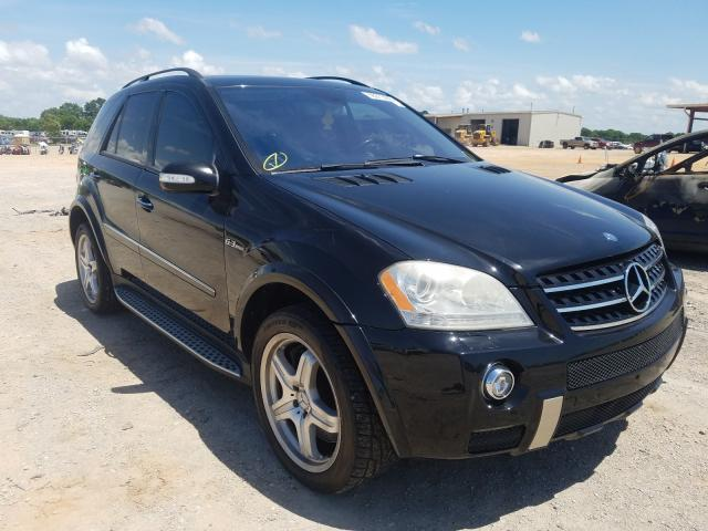 Mercedes-Benz salvage cars for sale: 2008 Mercedes-Benz ML 63 AMG