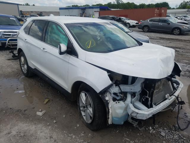 Ford Edge SEL salvage cars for sale: 2018 Ford Edge SEL