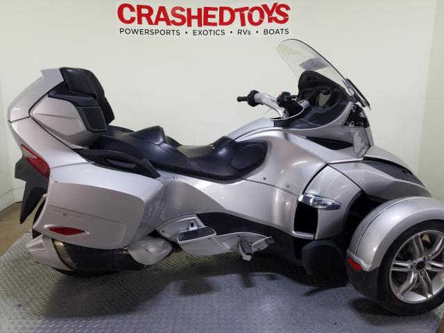 Can-Am salvage cars for sale: 2010 Can-Am Spyder ROA