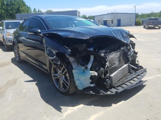 Ford Fusion Titanium salvage cars for sale: 2015 Ford Fusion Titanium