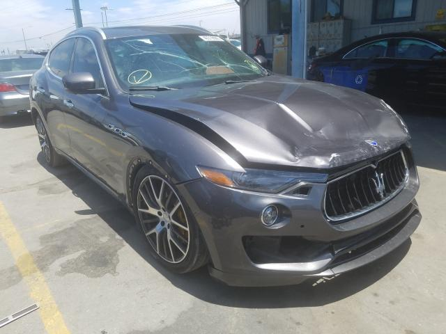 Maserati salvage cars for sale: 2017 Maserati Levante S