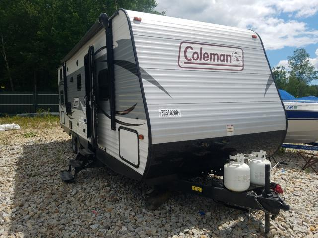Coleman salvage cars for sale: 2016 Coleman Lantern