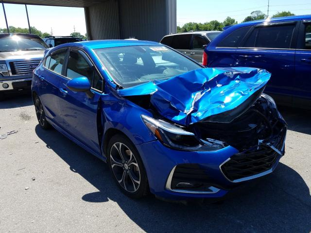 Salvage cars for sale from Copart Fort Wayne, IN: 2019 Chevrolet Cruze LT