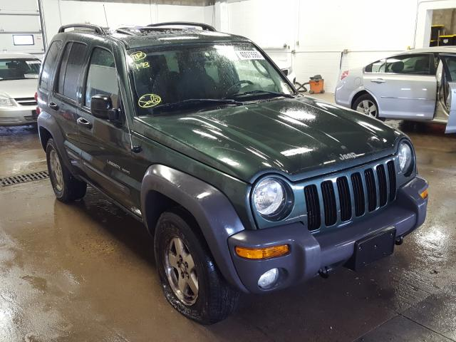 Salvage cars for sale from Copart Blaine, MN: 2003 Jeep Liberty SP