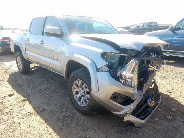 Toyota salvage cars for sale: 2018 Toyota Tacoma DOU