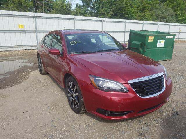Salvage cars for sale from Copart Glassboro, NJ: 2011 Chrysler 200 S