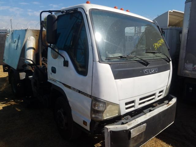 Isuzu salvage cars for sale: 2006 Isuzu NPR