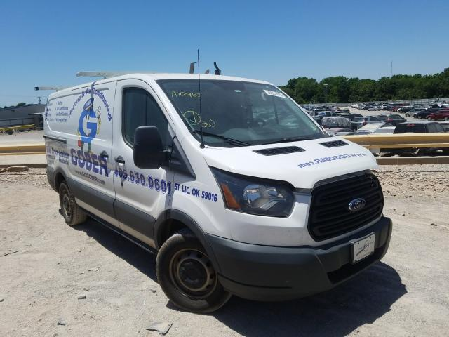 Salvage cars for sale from Copart Oklahoma City, OK: 2015 Ford Transit T