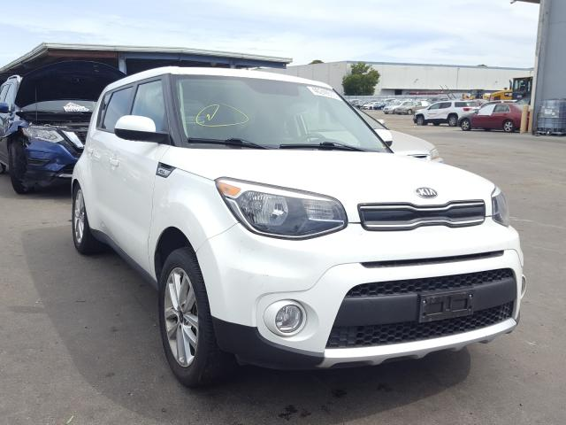 Salvage cars for sale from Copart Hayward, CA: 2017 KIA Soul +
