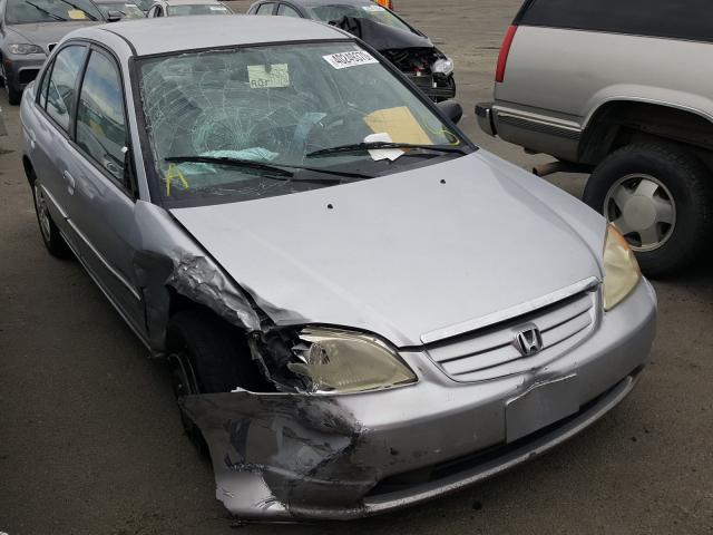 Honda Civic LX salvage cars for sale: 2003 Honda Civic LX