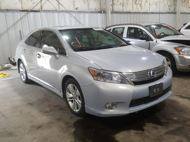 Salvage cars for sale from Copart Woodburn, OR: 2010 Lexus HS 250H