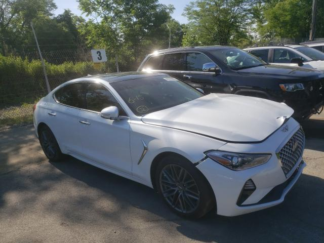Genesis salvage cars for sale: 2019 Genesis G70 Elite