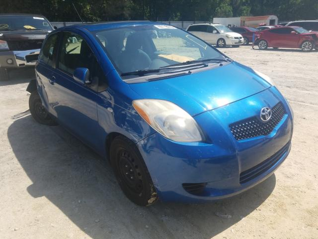 Salvage cars for sale from Copart Ocala, FL: 2007 Toyota Yaris
