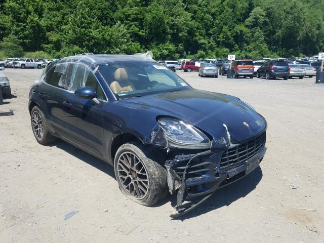 Porsche salvage cars for sale: 2018 Porsche Macan S