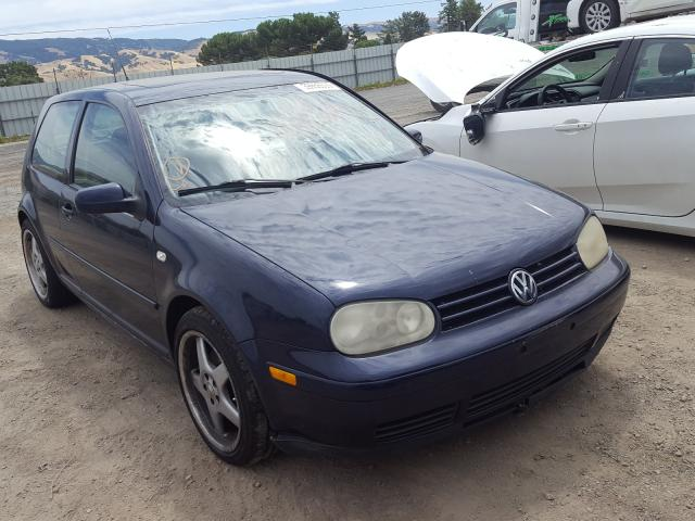 Volkswagen GTI salvage cars for sale: 2002 Volkswagen GTI