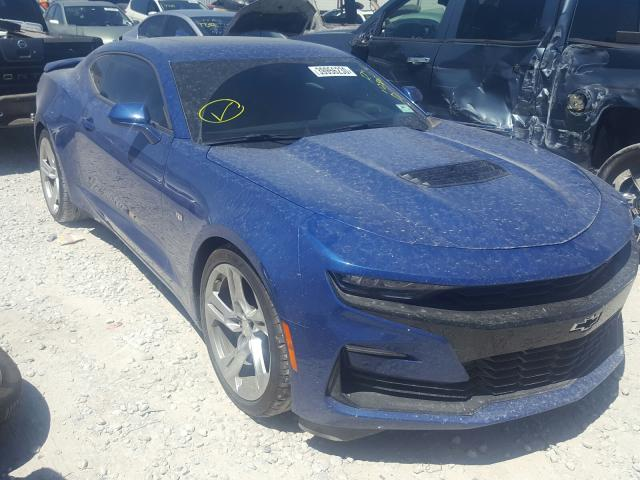 Chevrolet Camaro salvage cars for sale: 2019 Chevrolet Camaro