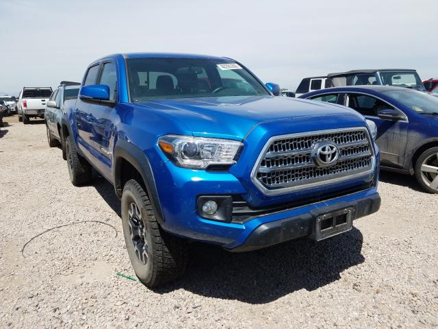 Toyota Tacoma DOU salvage cars for sale: 2016 Toyota Tacoma DOU