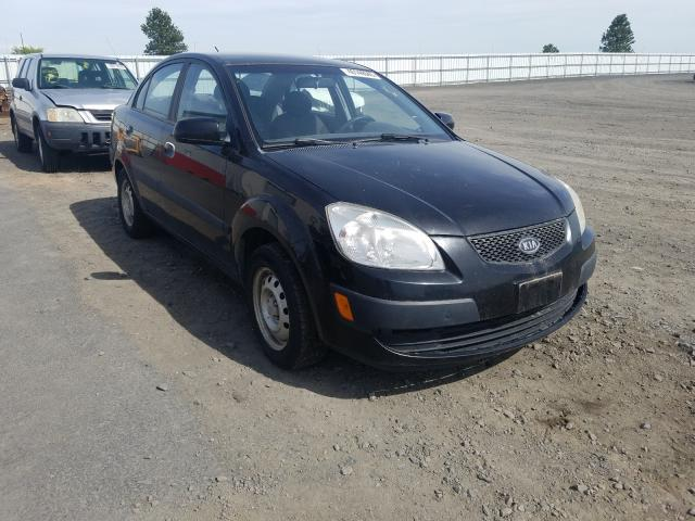 Salvage cars for sale from Copart Airway Heights, WA: 2008 KIA Rio Base