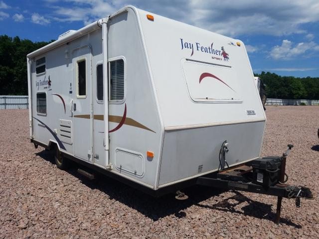 Jayco Jayfeather salvage cars for sale: 2006 Jayco Jayfeather