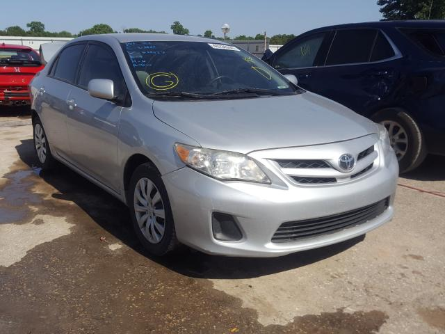 Salvage cars for sale from Copart Wichita, KS: 2012 Toyota Corolla BA