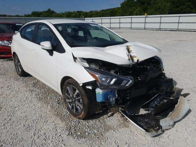 Nissan salvage cars for sale: 2020 Nissan Versa SV