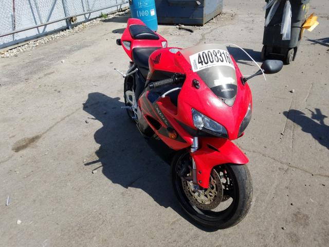Honda CBR1000 RR salvage cars for sale: 2004 Honda CBR1000 RR