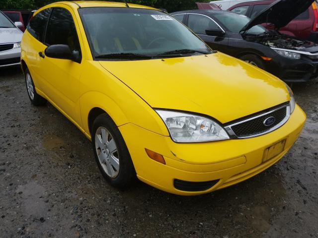 Ford Focus ZX3 salvage cars for sale: 2007 Ford Focus ZX3