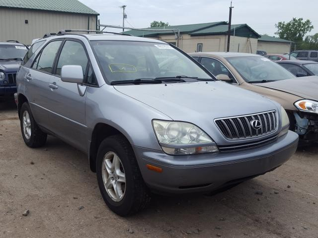 Salvage cars for sale from Copart Ham Lake, MN: 2001 Lexus RX 300