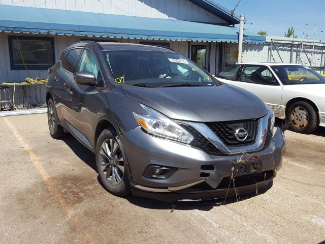 Nissan Murano S salvage cars for sale: 2017 Nissan Murano S