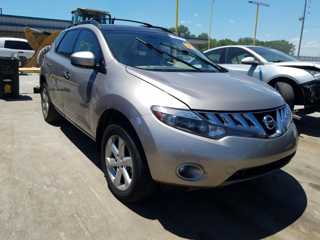 Nissan Murano S salvage cars for sale: 2010 Nissan Murano S