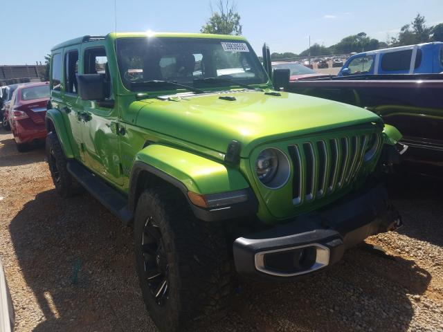 Jeep salvage cars for sale: 2018 Jeep Wrangler U