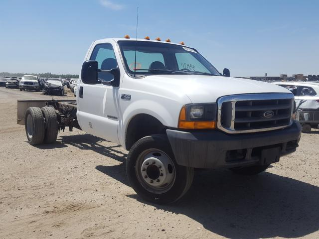 Ford F450 Super salvage cars for sale: 1999 Ford F450 Super