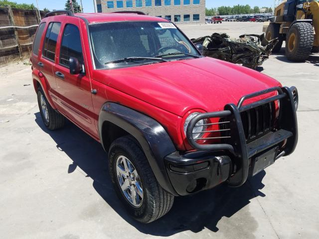 Jeep salvage cars for sale: 2004 Jeep Liberty LI