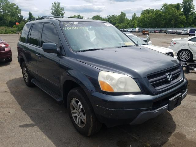 Honda salvage cars for sale: 2004 Honda Pilot EXL