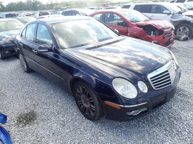 Salvage cars for sale from Copart Spartanburg, SC: 2008 Mercedes-Benz E 350 4matic